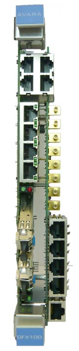ethernet fiber access card - DFX100 SFP