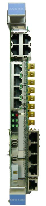 ethernet optical card - DFX100